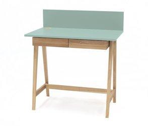 LUKA Ashwood Writing Desk 110x50cm with Drawer / Mint