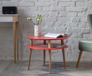 UFO Coffee Table diam. 57cm x H 45cm - Living Coral