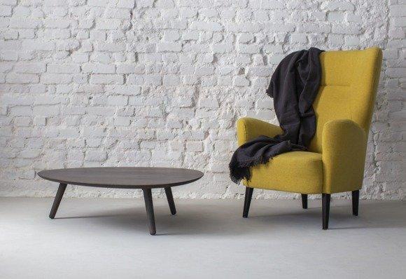 Contrast PICK Coffee Table 103x97x31cm - Grey