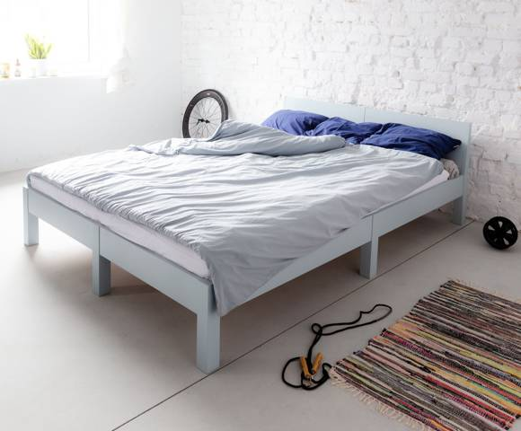DABI Bed W 140cm x L 200 cm / Light Turquoise