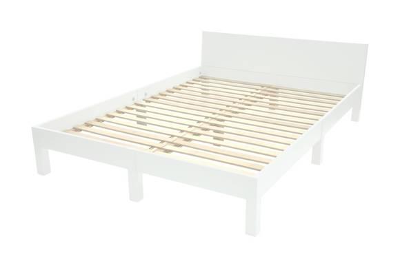 DABI Bed W 140cm x L 220 cm / White