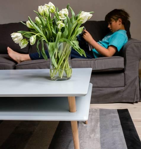 KORO HIGH Coffee Table 110x70cm - Graphite