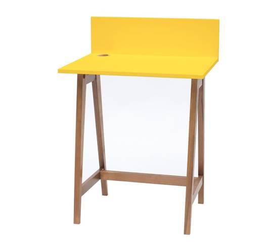 LUKA Writing Desk 65x50cm Oak / Yellow