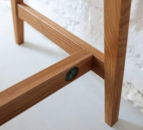 LUKA Writing Desk 85x50cm Oak / White