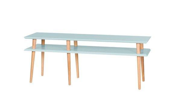 MUGO Sideboard 139x40x45 - Light Turquoise