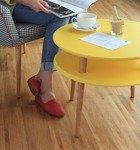 UFO Side Table diam. 57cm x H 45cm - Yellow