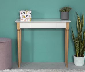 MAMO Schreibtisch 85x40cm - Weiß