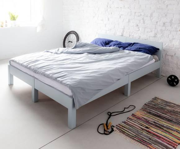 DABI Bett B 160 cm x L 200 cm / Helles Türkis