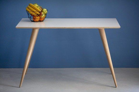 PLANET Rechteckig Tisch 124x78x75cm - Weiß